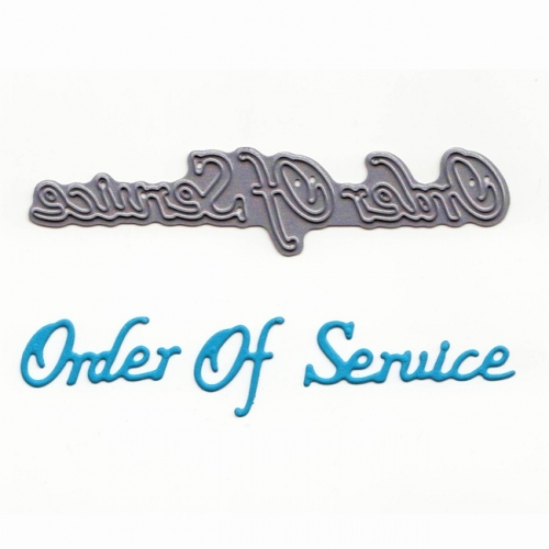 Tattered Lace Mini Dies - Stanzschablone Order Of Service