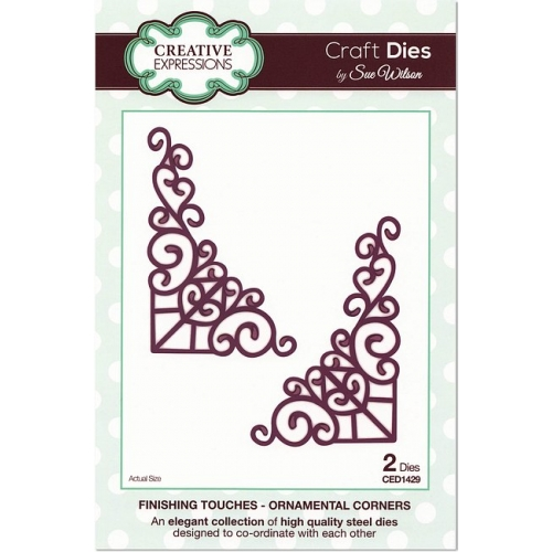 Creative Expressions Craft Dies Ornamental Corners - Stanzschablone Ecken