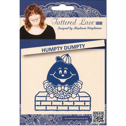 Tattered Lace Humpty Dumpty Stanzschablone Ei