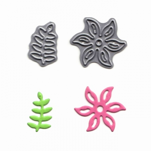 Tattered Lace Mini Dies - Stanzschablone Flower & Vine