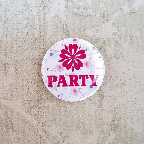 Button 25 mm - PARTY